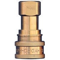 "1/4"" Female Brass Quick Connect Coupler ""QD"""