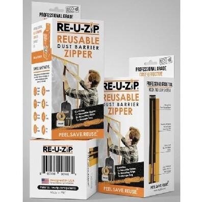Reusable Dust Barrier Zipper - Starter Kit