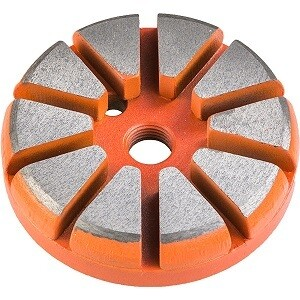 Ten S Metal Bond Floor Disc - (Select Grit)