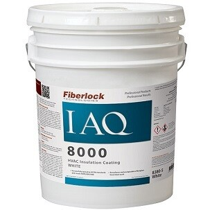 IAQ 8000 White HVAC Insulation Sealer - PL