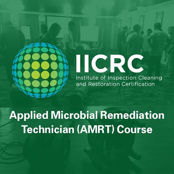 IICRC Applied Microbial Remediation Tech AMRT (August 20-23, 2019) - Fort Myers Location IICRC-AMRTFM