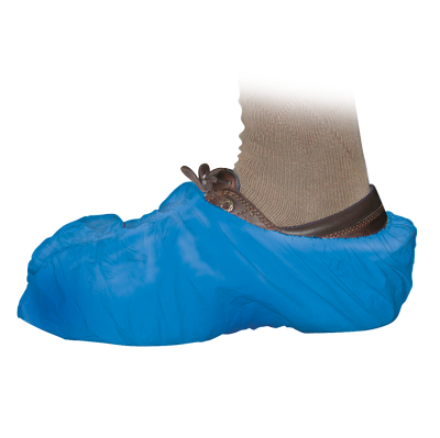 Blue Shoe Covers - 50 Pack