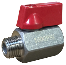 1,000psi Carpet Cleaning Ball Valve - Shut Off Valve