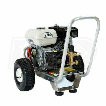 2700psi Direct Drive Cold Water Pressure Washer - Pressure Pro