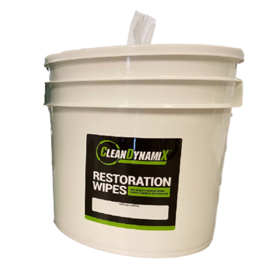 CleanDynamiX Restoration Dry Wipes