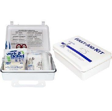25 Man First Aid Kit with Eye Wash Case K-FAK-25P