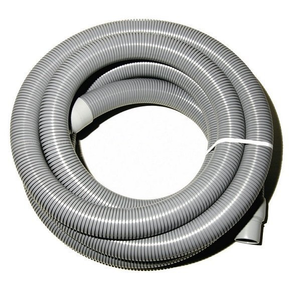 "2"" x  50' - Gray Vacuum Hose with Cuffs"