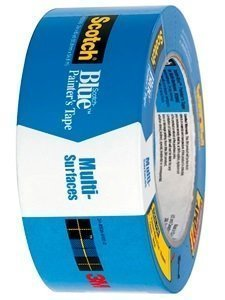 "2"" x 60 yds. Blue Painters Tape by 3M ScothBlue"