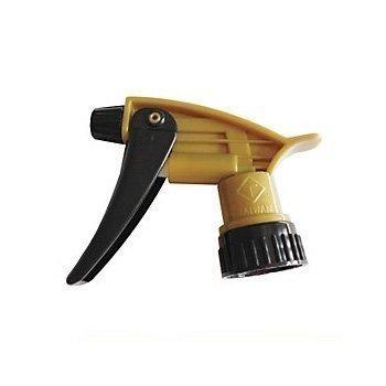 Black and Gold Trigger Sprayer - Acid Resistant