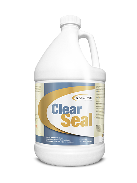Premium Clear Seal Natural Stone and Grout Sealer - GL
