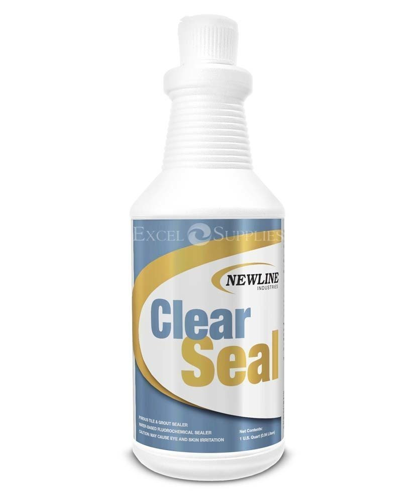 Premium Clear Seal Natural Stone and Grout Sealer - QT