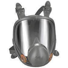 3M Full Face Respirator 6000 Series - (SELECT Size)