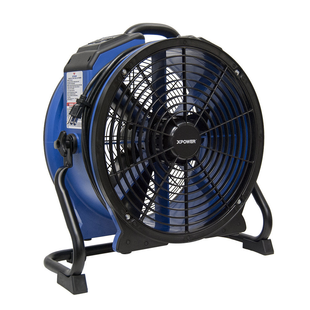 High Temp Axial Airmover with GFCI by Xpower