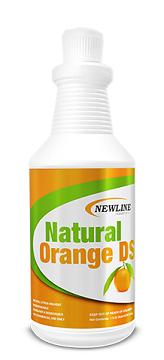 Natural Orange DS Solvent Booster and  Carpet Spotter - QT