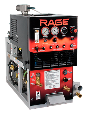 Rage with 90gl Waste Tank by Sapphire Scientific