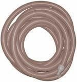 "Super TM High Heat Vac Hose 2"" x 50' w/cuffs - Gray"