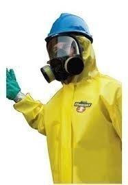 Yellow ChemMAX Suit, Serged & Bound - 3XL