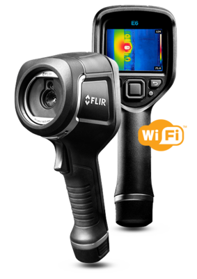 FLIR E6 IR Camera with MSX