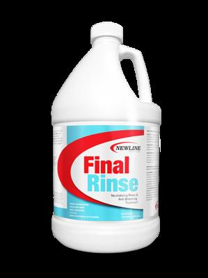 Final Rinse Carpet Rinse & Anti-Browning Treatment - GL