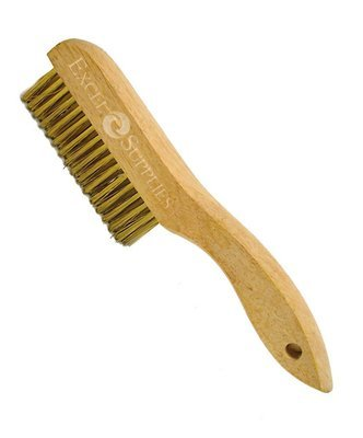 Brass Velvet Brush