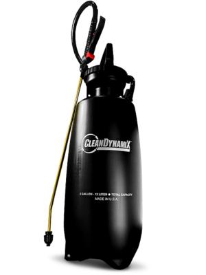 3gl Premium Pump Sprayer w/ Relief Valve by Clean DynamiX