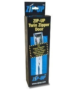 Zip-Up Original Self Adhesive Containment Zipper | 2-Pack