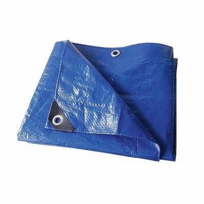 HD Woven Blue Poly Tarp 30' x 50' - ea