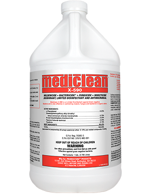 Mediclean X-590 (GL) by ProRestore