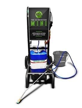 MINI Eliminator Soft Wash System by Serum