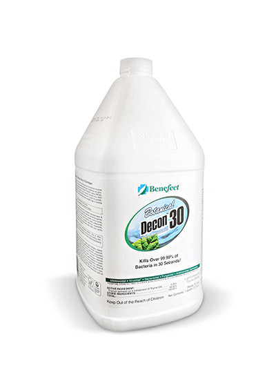 Benefect Decon 30 Antimicrobial Cleaner (Select Size)