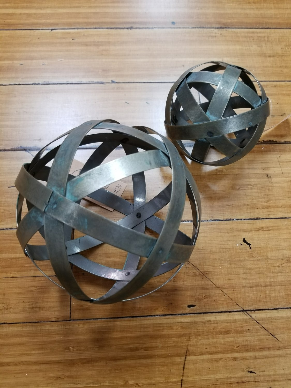 6 Inch Tin Sphere