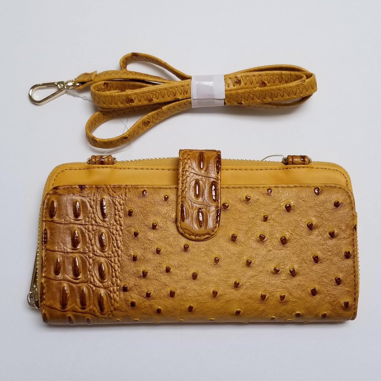 Cellphone Holder Crossbody Wallet