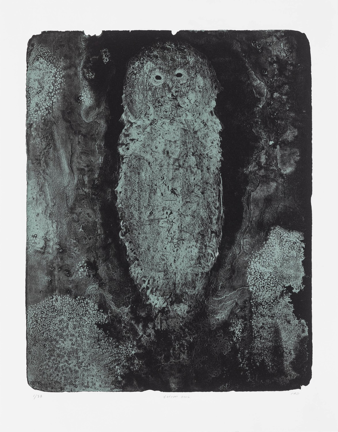 Totem Owl - Lithograph