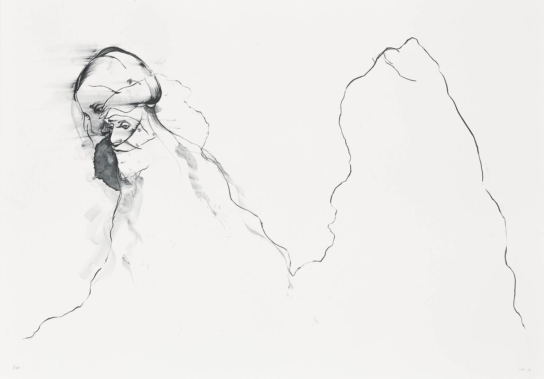 Hemlock Mountain - Lithograph