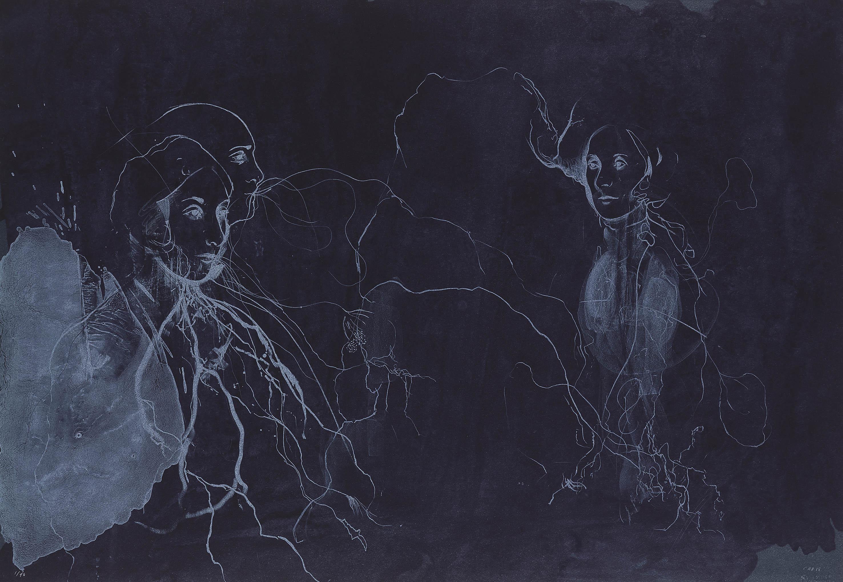 Broken Forest - Lithograph 00030