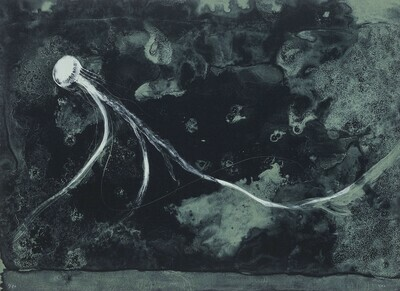Sea Creature - Lithograph
