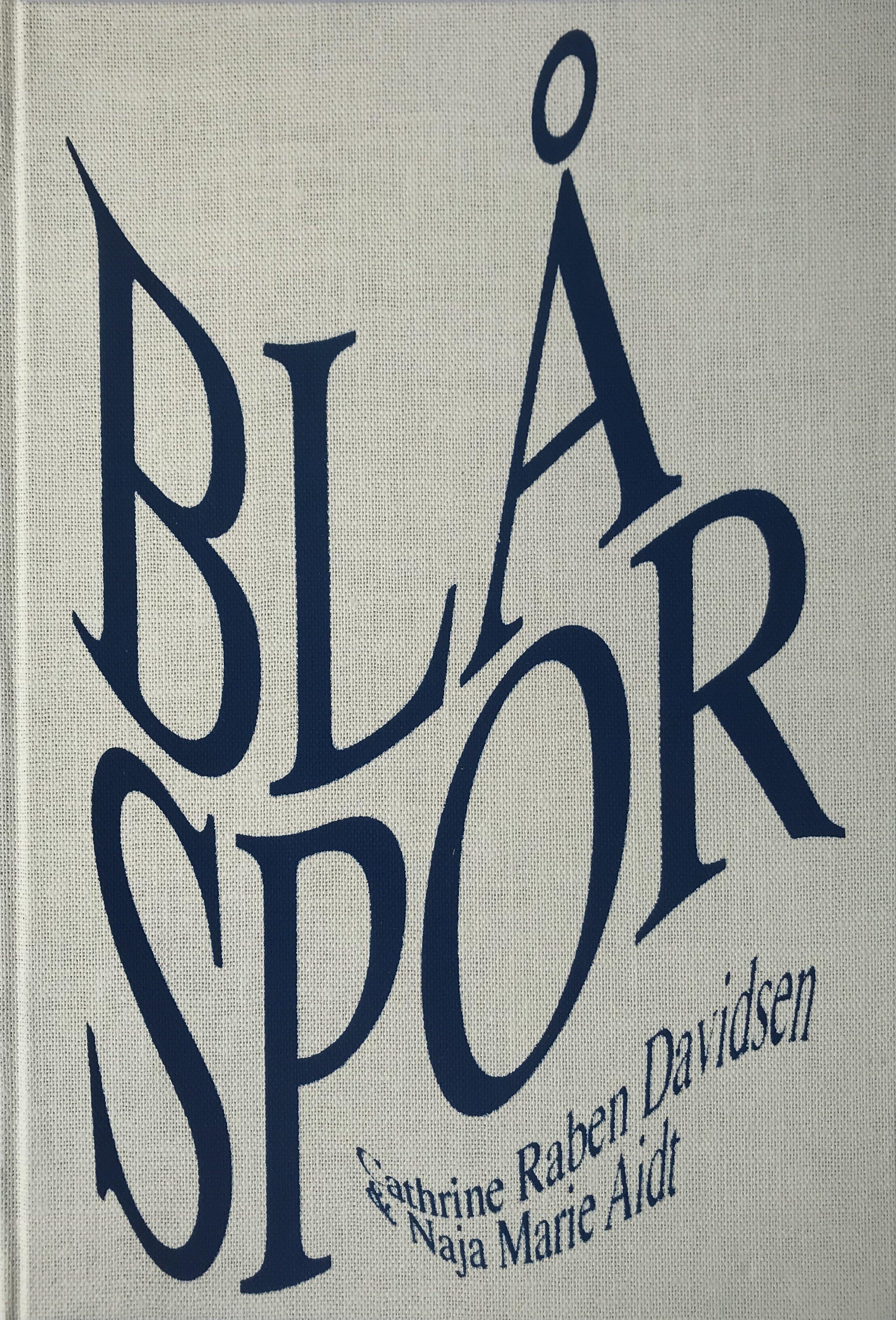 Blå Spor - Handmade Book 00012