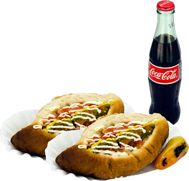 WEDNESDAY'S SPECIAL SONORAN HOT DOGS + ANY DRINK