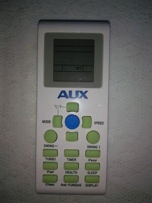 AUX Mini Split Replacement Remote