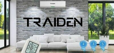 Traiden Air 12K BTU Mini Split System -110 Volt with Install Kit