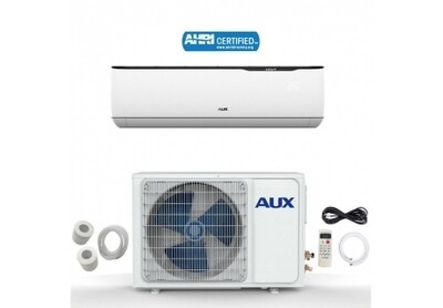 AUX 12000 BTU Inverter Compressor  115 Volt 17 SEER with 12 Foot Lineset Kit and WIFI