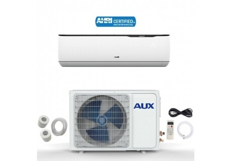AUX 12000 BTU Mini Split with Inverter Compressor 115 Volt  17 SEER  with WIFI and 25 Foot Lineset Install Kit
