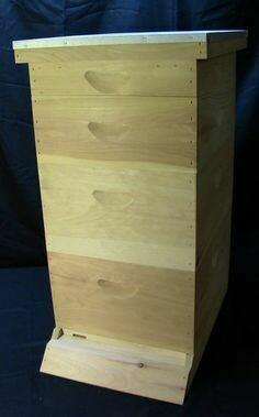 8 Frame Deep Hive Kit
