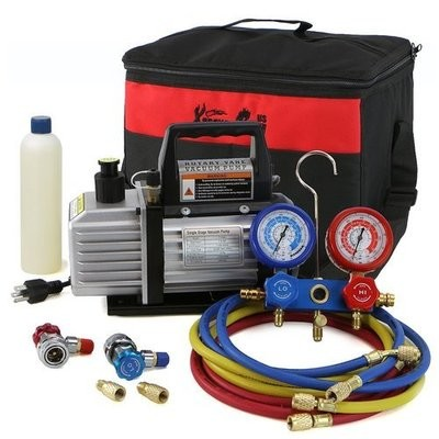 Mini Split Vacuum Pump Kit