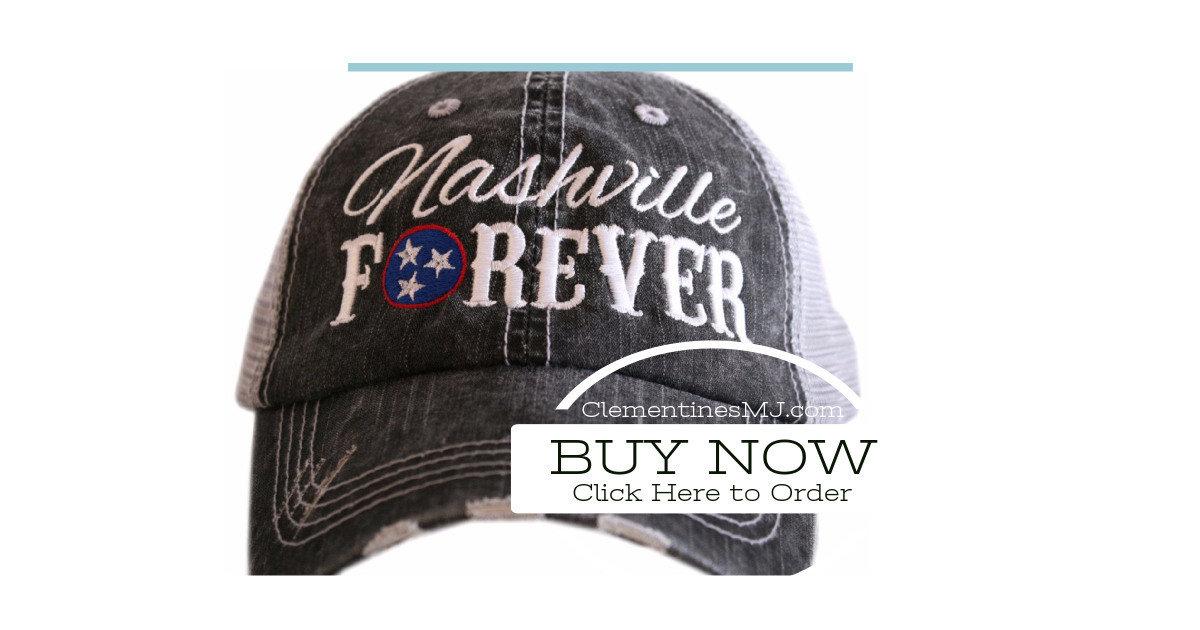 746ddd3fef6 Nashville Forever Tri Star Trucker Hats with 3 stars