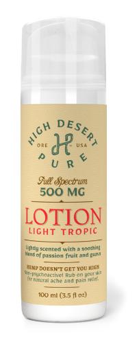 500mg Hemp Infused Lotion - Full Spectrum LOTCBDFULL
