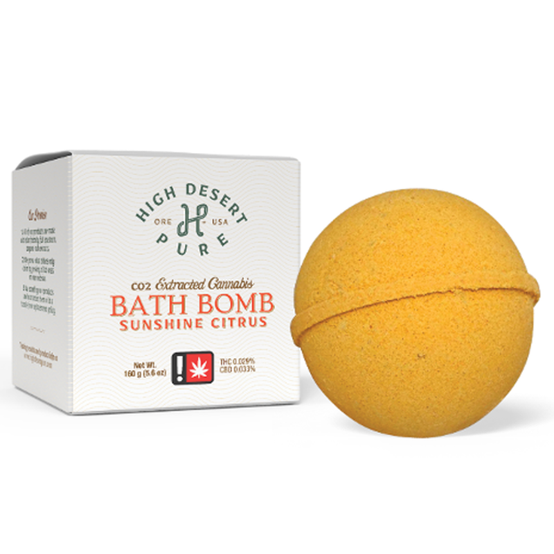 Sunshine Citrus Bath Bomb