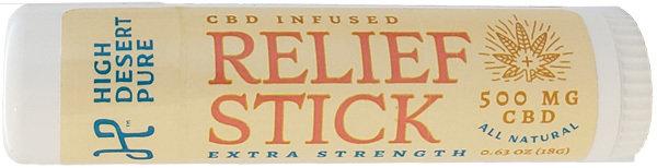 500mg CBD-Infused Relief Stick RELCBD