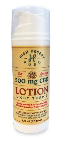 500mg CBD-Infused Lotion - Full Spectrum LOTCBDFULL