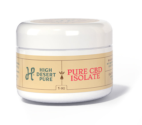 Pure CBD Isolate 1 oz (28 grams) CBDISO1OZ